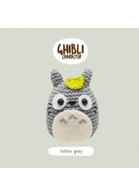 Bena Bena Handmade Totoro Collection Totoro Grey