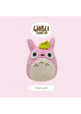 Bena Bena Handmade Totoro Collection Totoro Pink