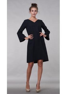 Anabelly V BLACK DRESS