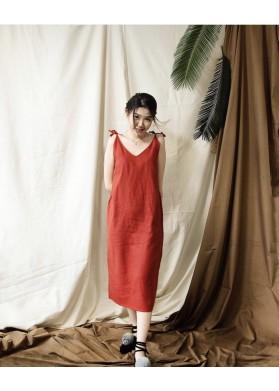 Baline WATU DRESS - RED