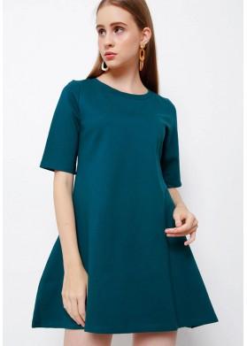 CHOCOCHIPS Mulan Dress Emerald