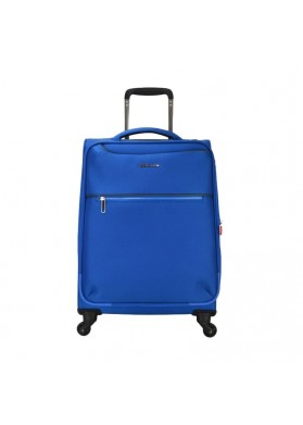 Echolac CT567 Nylon Spinner Case Luggage Trolley Bag BLUE