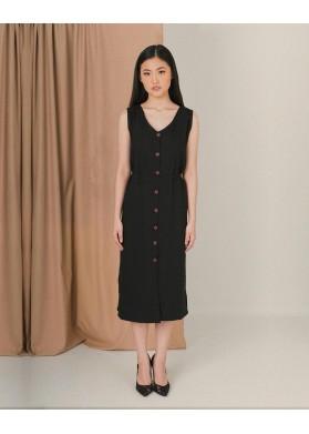 Gobi Anse Dress in Black