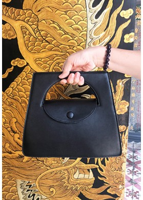 [HABIS] Goddess Collo Black Bag