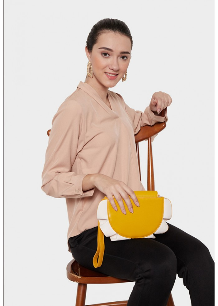 Goddess Shalom Yellow Bag