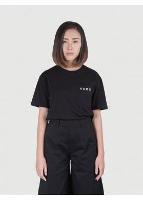 HEIM Basic Boxy Black T-shirt HOME