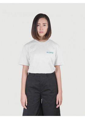 HEIM Basic Boxy White T-shirt HOME