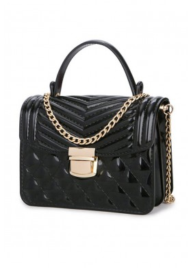 Goddess Brie Black Bag
