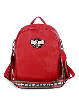 Goddess Dahlia Red Bag